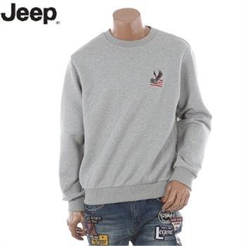 [JEEP]지프 맨투맨 남여공용 직자수 맨투맨 티셔츠(JI2TSU828)