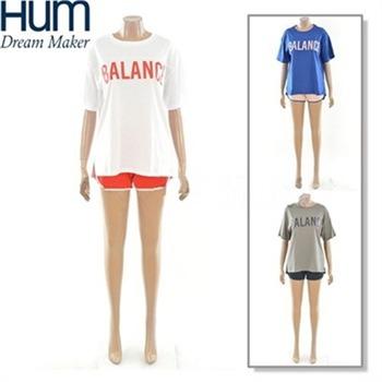[흄]트레이닝복 여성 티셔츠 반바지세트(FHMMCZM540P)