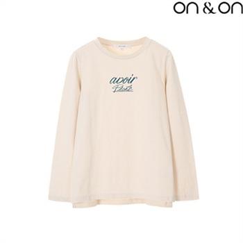 [온앤온] 레터링 티셔츠(NW8AE186)