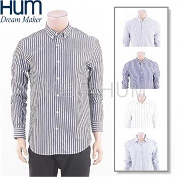 [흄]셔츠 남여공용 스트라이프 셔츠(FHNSCSL701P)