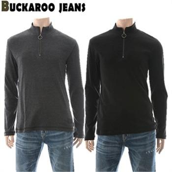 [버커루] 남성용 반하이넥 집업 티셔츠(B173TS230P)