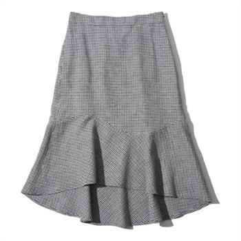 [테이트]여성 체크언발머메이드스커트 KA9U4-WQS020