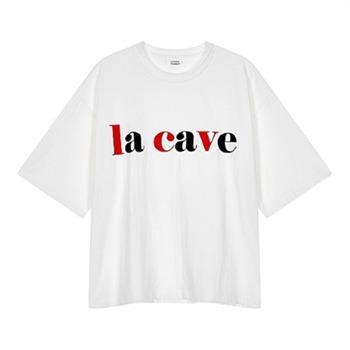 [톰보이][가격인하] 컬러 레터링 티셔츠 9109222344