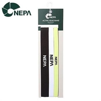 [네파]NEPA 엑티브 헤어밴드 세트 - 7DC7922
