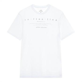 [A/X]남성 리플렉션 레터링 반팔 티셔츠(A419330017)