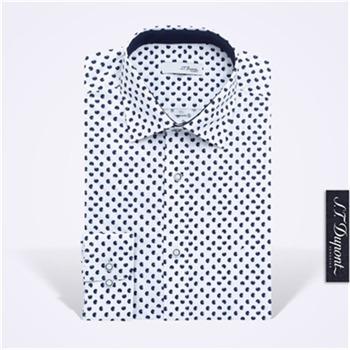 [듀퐁]남성 라운드 프린트 긴소매셔츠 9SM21LS374SNY