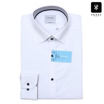 [예작]남성 텐셀 사각도비 긴소매셔츠 YJ9FBS512WH