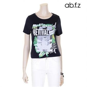 아티스틱 프린팅 티셔츠 (AFR2GK14A)