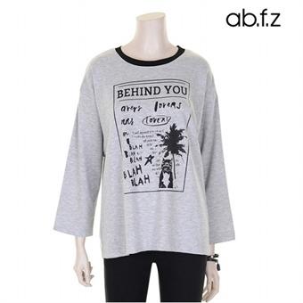 야자수독 프린팅 티셔츠 (AFR2GK17A)