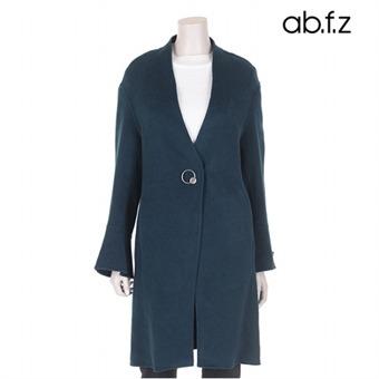 노카라 벨소매 핸드메이드 코트 (AFR4CC09A)