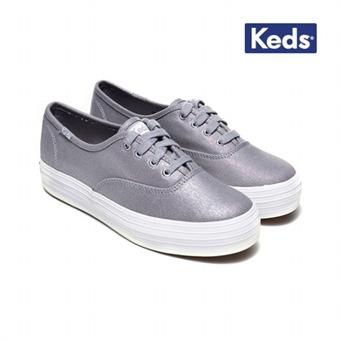 케즈 여자 신발 트리플 메탈릭 캔버스 (WF56557))