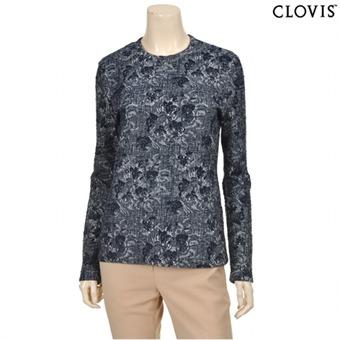 [클라비스] Y 레이스 포인트 슬림 티셔츠-CVLW62201M_59
