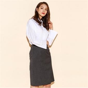 [로엠] WY 나염 H 무릎기장 스커트 - RMWH649R42_15