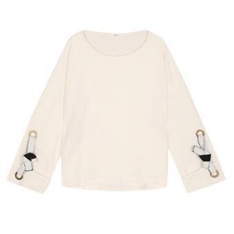 [로엠] WY 소매 아일렛 장식 티셔츠 - RMLW649RQ1_39