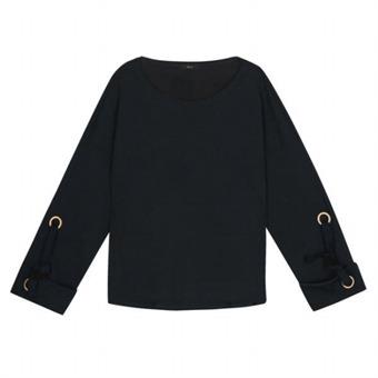 [로엠] WY 소매 아일렛 장식 티셔츠 - RMLW649RQ1_40