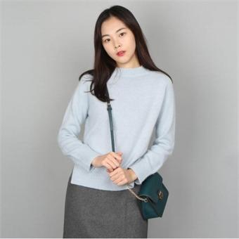 [로엠] WY 앙고라 반넥 스웨터 - RMKA74VR12_50