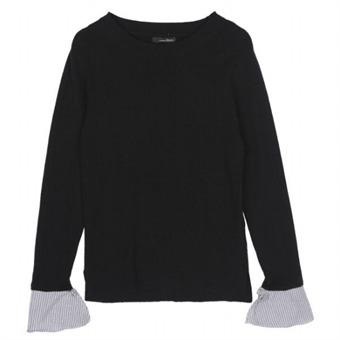 [로엠] WY 셔츠 배색 니트 - RMKA74TG11_19