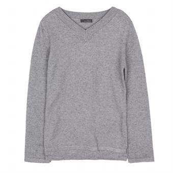 [로엠] WY V넥 허리 포인트 스웨터 - RMKA74TR24_15