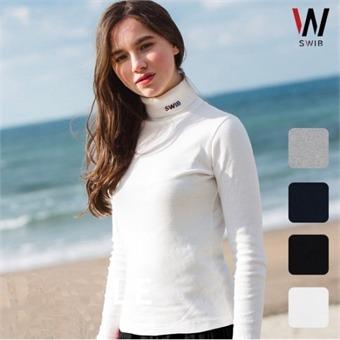 [SWIB] E 공용 베이직 터틀넥 티셔츠-WE1H15071