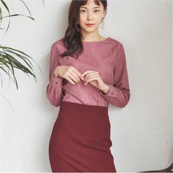 [로엠] WY 베이직 H라인 스커트 - RMWH738100_29