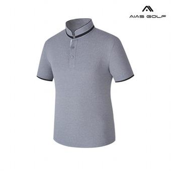[아이아스] E 남성 배색 헨리넥 티셔츠 - AIVSMTP157_CH