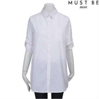 [머스트비] Y 화이트 셔츠-FMLSCSA501M_WHA