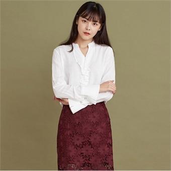 [로엠] WY 넥장식 블라우스 - RMBL749R12_39