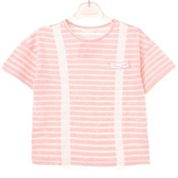 로엠걸즈 NC02 멜빵포인트 반팔 티셔츠 RGRA72402Q