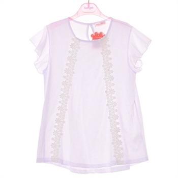 로엠걸즈 NC02 레이스 소매 날개 티셔츠 RGRA72411C
