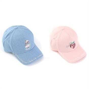 로엠걸즈 NC02 리본포인트 자수 볼캡 모자 RGAC19S2C