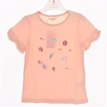 로엠걸즈 NC02 소매입체 반팔 티셔츠 RGRA1940C