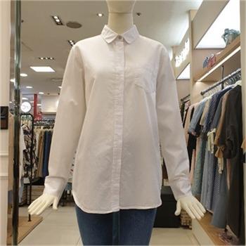 티렌 NC02 베이직솔리드셔츠 T172-PSC706-WH