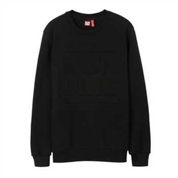 [브라바도] RUNDMC EMBOSSED LOGO SWEATSHIRTS BLACK