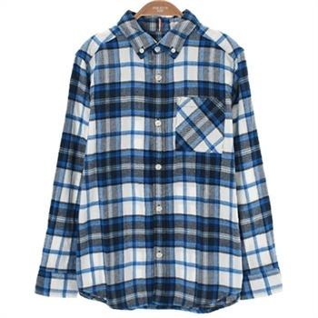 폴햄키즈 NC02 겨울 체크 셔츠 PKZ4WC1010BL
