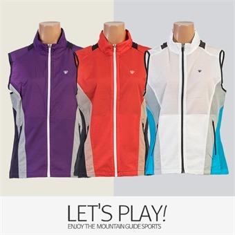 [마운틴가이드]봄,여름등산복/단체복/베스트/바람막이/여성 등산조끼 ABW-B8172