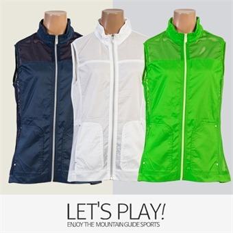 [마운틴가이드]봄,여름등산복/단체복/베스트/바람막이/여성 망사 등산조끼 CEW-B8270