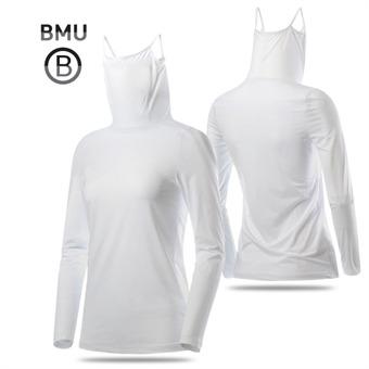 [BMU] 냉감 나일론스판 UV차단 여성 귀달이 긴팔 이너웨어_198493
