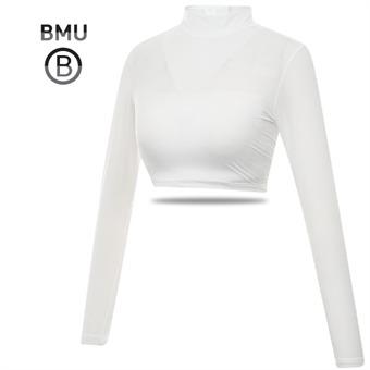 [BMU] UV차단 냉감 나일론스판 하프탑 여성 긴팔 이너웨어_198494