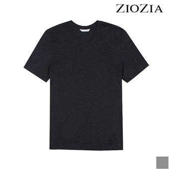 [지오지아][시즌오프] 옆 트임 베이직 브이넥 티셔츠 (ADX2TV1931)