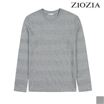 [지오지아] 볼륨 단가라 멜란지 티셔츠 I (ABX3TR1108)_1st