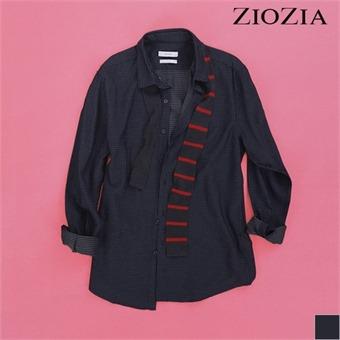 [지오지아] 폴카도트 쟈가드 셔츠 I (ABX3WC1105)_1st