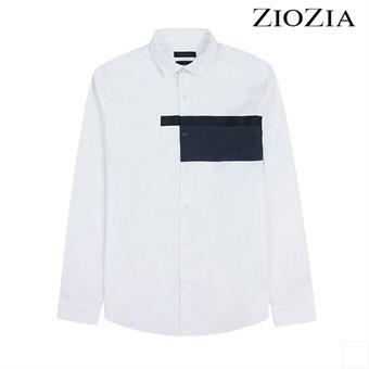 [지오지아] 블럭포인트 캐주얼 셔츠 I (AAX3WC1102)_1st