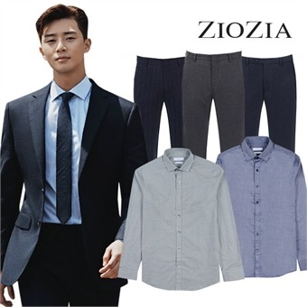 [지오지아] 미리 준비하는 간절기 정장셔츠/팬츠 균일 34종