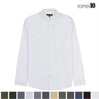 [탑텐] 원포켓 버튼 다운 카라 캐쥬얼 셔츠(MSV3WC1001)
