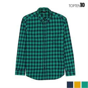 [탑텐] 기본 체크 캐쥬얼 셔츠(MSU1WC3001)