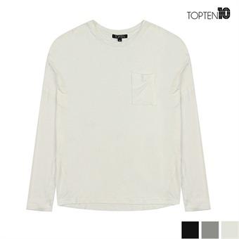 [탑텐] 레이온 루즈핏 7부 티셔츠(MSU3TR2022)
