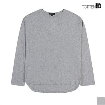 [탑텐] 슬럽 루즈핏 8부 티셔츠(MSV3TR2004)