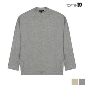 [탑텐] 반 하이넥 오버핏 티셔츠(MSV3TR2007)
