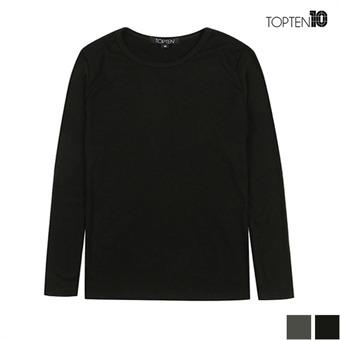 [탑텐] 레이온 슬림 긴팔 티셔츠(MSU3TR2017)