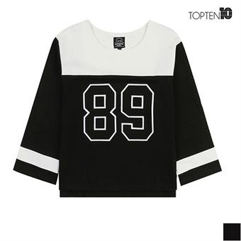 [탑텐] 89 루즈핏 8부 티셔츠(MSU3TR2004)